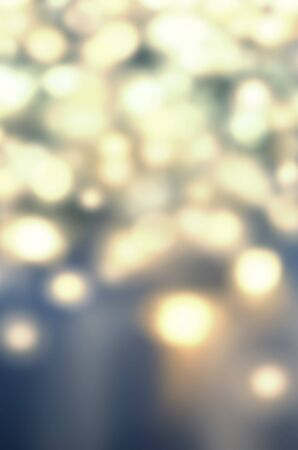 de focused: Abstract Gold glittering christmas lights - Blurred  circular bokeh background with de focused  circles