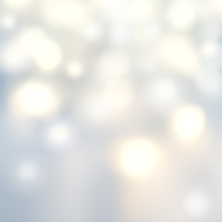 Hermoso fondo de Navidad con luces de plata y estrellas. Festivo resumen de luces color blanco y gris. Foto de archivo - 47923220