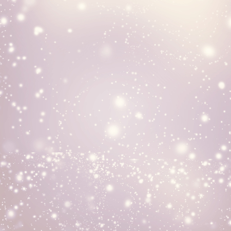 estrellas moradas: Brillantes luces del punto de desenfoque en el fondo abstracto. Resumen de Navidad estrellas brillantes en el fondo del bokeh. Foto de archivo