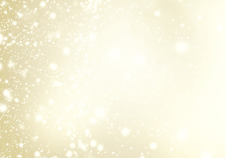 Abstract Background with Christmas Glitter Defocused Bokeh,  Blinking Stars and snowflakes. Blurred Soft colored