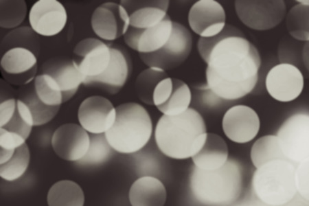 wallpaper: Abstract blurry bokeh background black and white color. Night boke texture Stock Photo