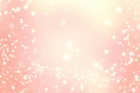blinking: Abstract Background with Christmas Glitter Defocused Bokeh, Blinking Stars and snow flakes. Blurred Soft colored Stock Photo