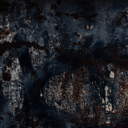 pitting: Black Abstract large rust surface background. Grungy background with space for text or image. Dark vintage wall Stock Photo