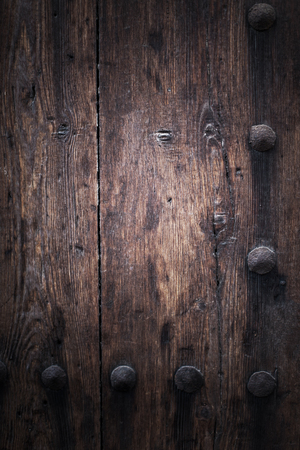 duckboards: Brown wooden background planks texture.