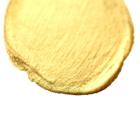 stain: Golden circle stain background. Stock Photo