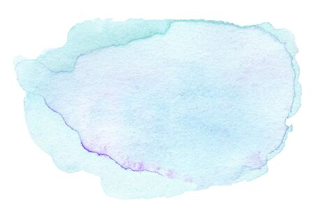 ink spot: Abstract Blue Watercolour Hand Painted ink spot textured background.