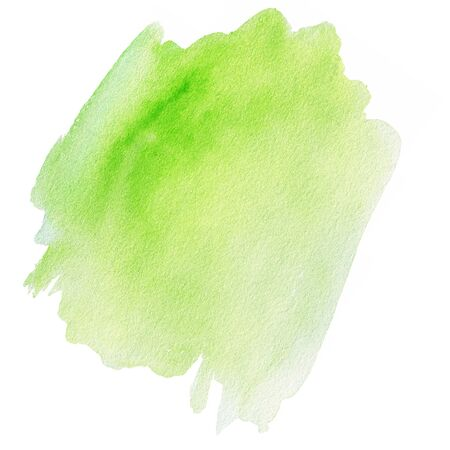 pastel color: Watercolour abstract hand painted textured wet ink spot for background. Stock Photo