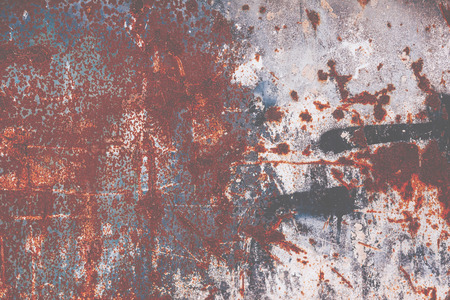 rust: Grungy textured background - Abstract rust surface Stock Photo