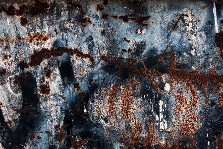 pitting: Grungy textured background - Abstract rust surface Stock Photo