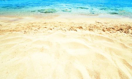 shorebreak: Beautiful Sea sand Stock Photo