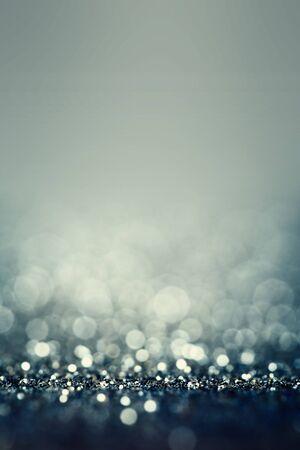 blinking: Abstract Glitter Defocused Background With Blinking bokeh Stock Photo