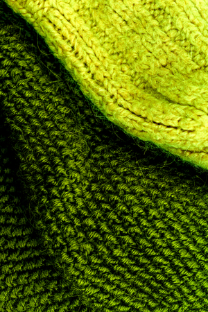 Cozy Knitted wool fabric textured background