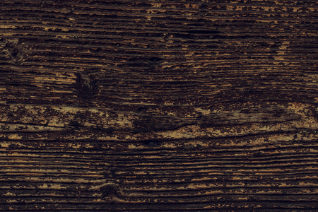 Dark  Wood background texture of natural wooden boards stained with age. Vintage wooden table, macro grain.  Stok Fotoğraf