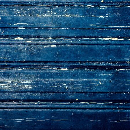 Colorful Dark scratched grunge Wooden textured wall. Old wood texture with knot  Stock Photo