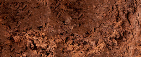 Dark Chocolate  ice cream  Background or Texture. Cocoa ice-cream wallpaper Banco de Imagens - 123453149