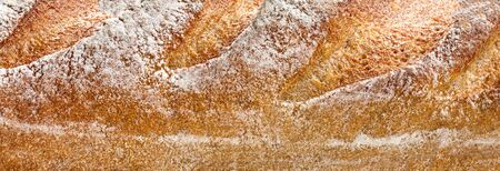 Loaf of bread Background. Pattern. Close up