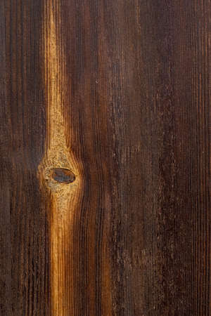 Old Wooden Background of Brown and Yellow Colors