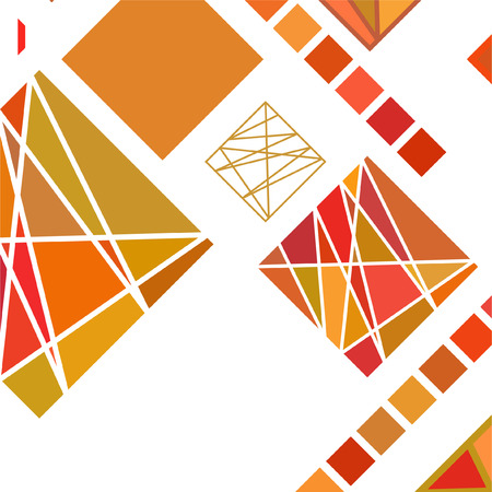 Streszczenie nowoczesne tło geometryczne