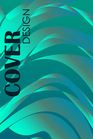 Abstract color 3d paper, art illustration. Vector design layout for banners presentations, flyers, posters and invitations