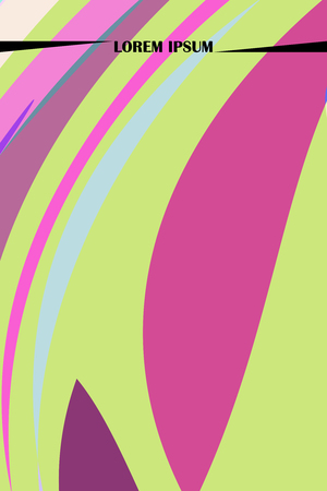 Abstract color paper, art illustration. Vector design layout for banners presentations, flyers, posters and invitations