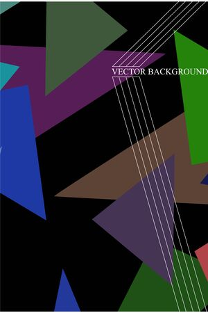 Abstract modern poligonal background for brochure and covers, made with geometrical shapes.
