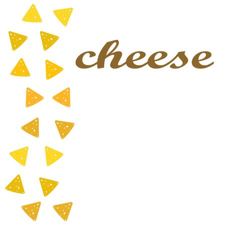 Cheese vector, appetizing cheese background, dairy product. 일러스트