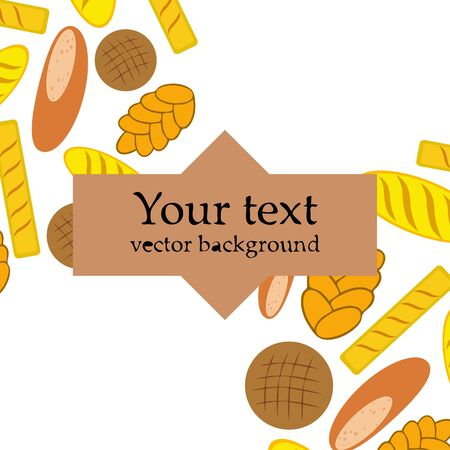 vector illustration of Bakery Product Food Collection Illustration