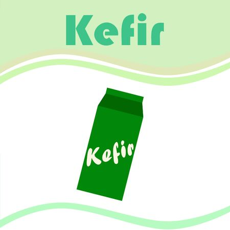 Kefir is a fermented milk drink similar to a thin yogurt