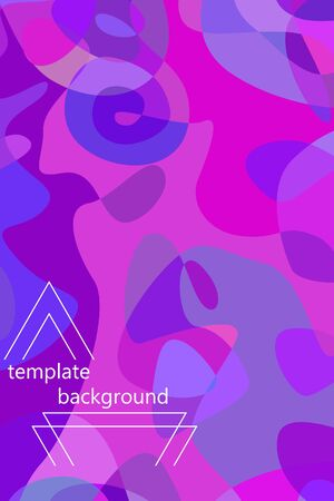 Beautiful abstract spots illustration of grunge texture.