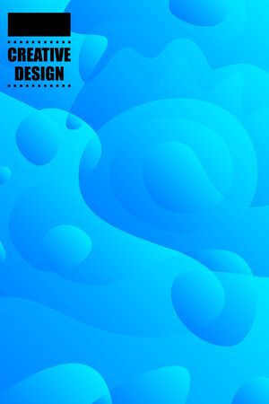 Abstract color modern geometric spots, vector background. Archivio Fotografico - 138444666