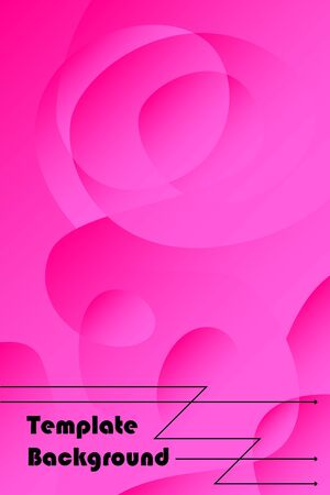 Abstract color modern geometric spots, vector background.