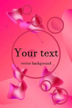 Liquid vector colorful shapes. Abstract vector background. Liquid ink art design. Ilustração