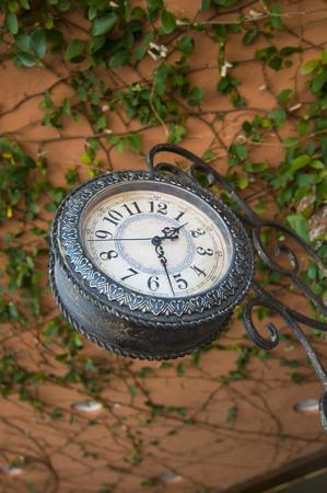 Hanging antique clock