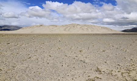 デスバレー国立公園、カリフォルニア州ユーリカ ・ バレー砂丘 写真素材