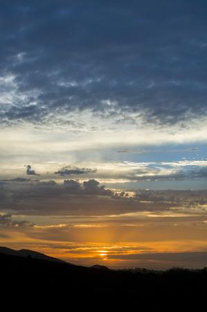 Sunset in Camarillo, California Stock Photo