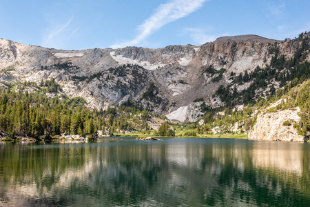 Crystal Lake in Mammoth Lakes, California
