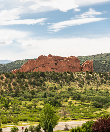 North Gateway Rock in the Garden of the Gods, Colorado