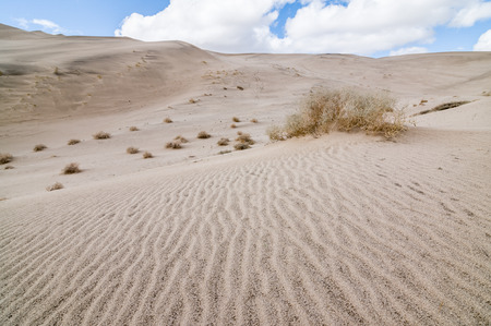 Eureka Valley Sand Dunes in Death Valley National Park, California