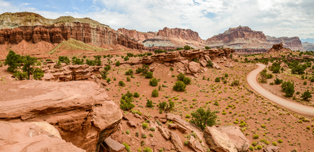 Panorama Point in Capital Reef National Park, Utah Stock Photo - 115492382