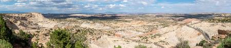 Panorama of Scenic Highway 12 in Utah