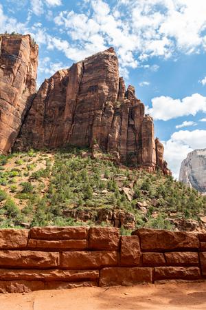 Cliffs in Zion National Park, Utah