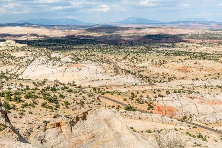 Scenic Highway 12 in Utah Stock Photo - 115492478