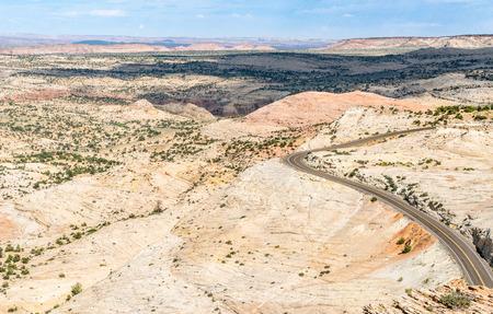 Scenic Highway 12 in Utah