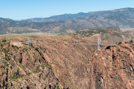 Royal Gorge Bridge in Canon City, Colorado Stock Photo - 115492513