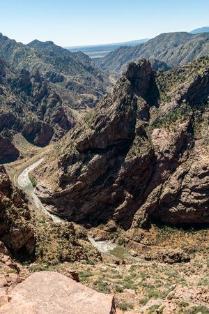 Royal Gorge in Canon City, Colorado Stock Photo - 115492547