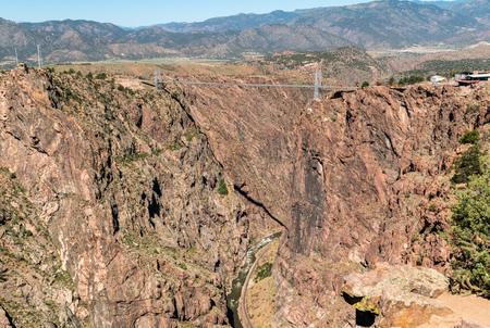 Royal Gorge Bridge in Canon City, Colorado Stock Photo - 115492574