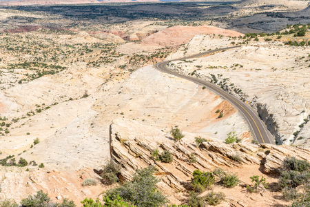 Scenic Highway 12 in Utah Stock Photo - 115492594