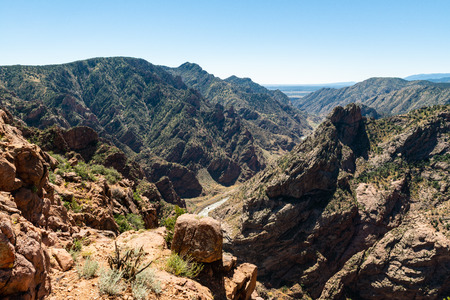 Royal Gorge in Canon City, Colorado Stock Photo - 115492641