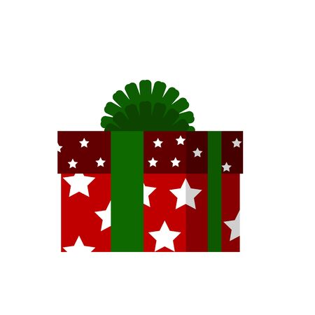 Red gift box icon.