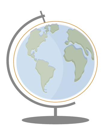 Globe icon. Earth symbol. Flat icon.
